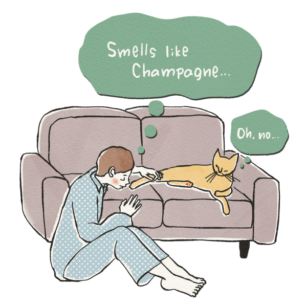 ORIGINAL 01 猫の肉球はシャンパンの香り