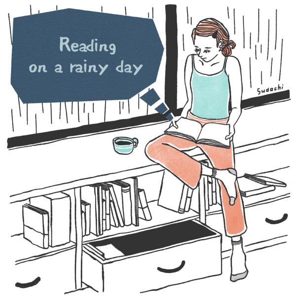ORIGINAL 02 雨の日の読書
